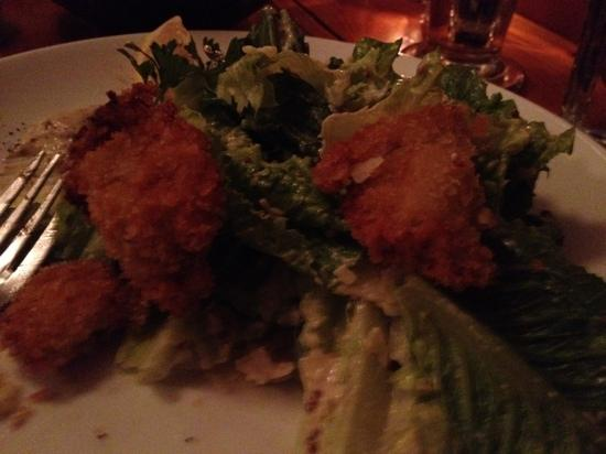 Caiola's: salad with oysters