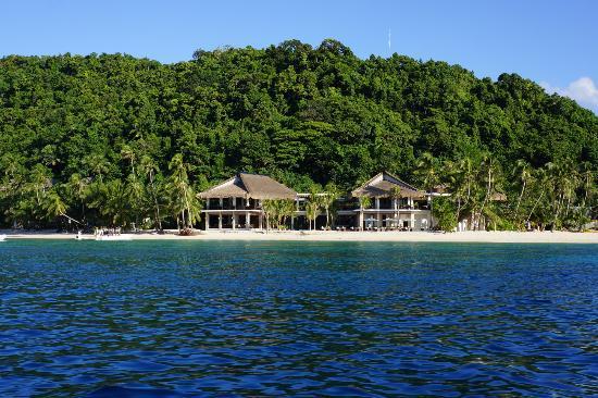 El Nido Resorts Pangulasian Island: Arriving view