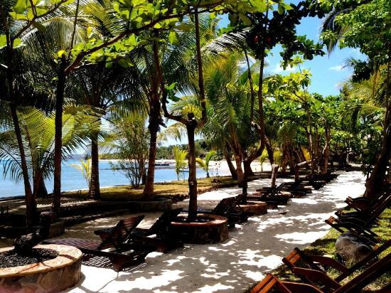 Ravintsara Wellness Hotel: bord de mer