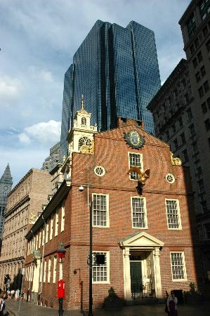 Boston Civil War Walking Tour: The Old State House