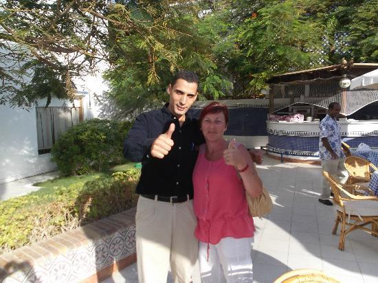 Baron Palms Resort Sharm El Sheikh: me and ahmed brilliant service