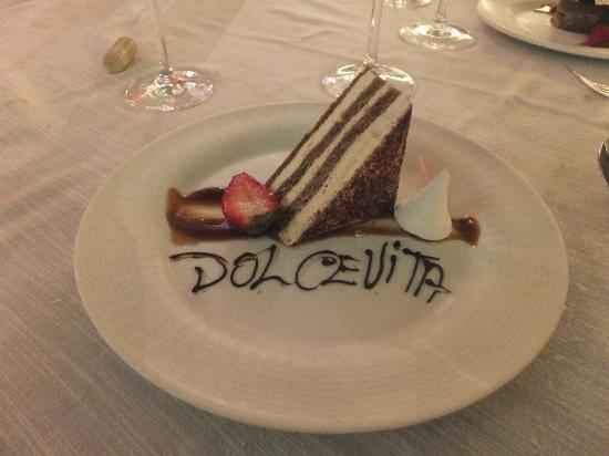 Barcelo Bavaro Beach - Adults Only: Dessert Dolce vita