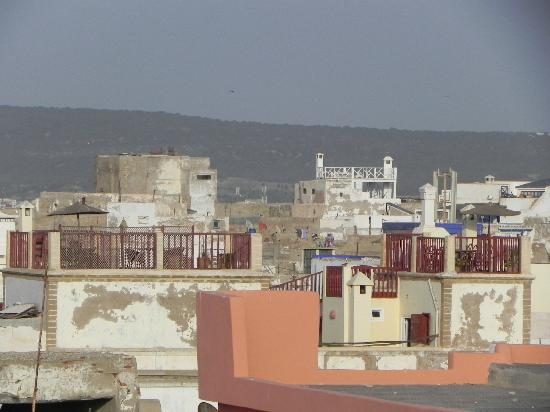 Villa Garance : Terrasse Riad d'un autre point de vue
