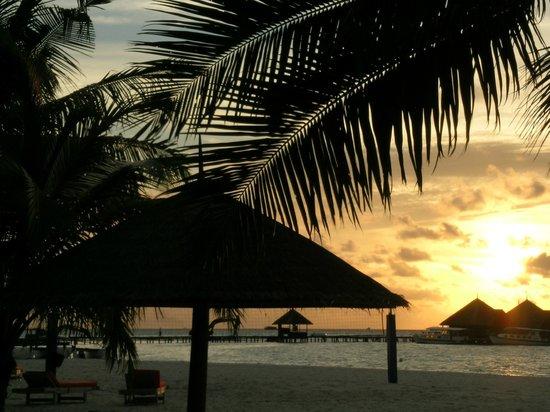 Club Med Kani:                   tramonto
