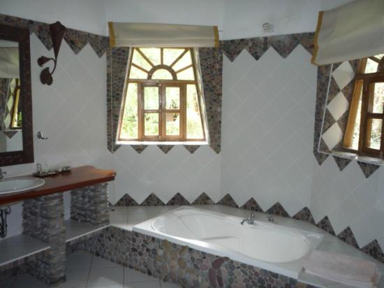 Posada Las Casitas del Arco Iris : Wow what a bathroom!