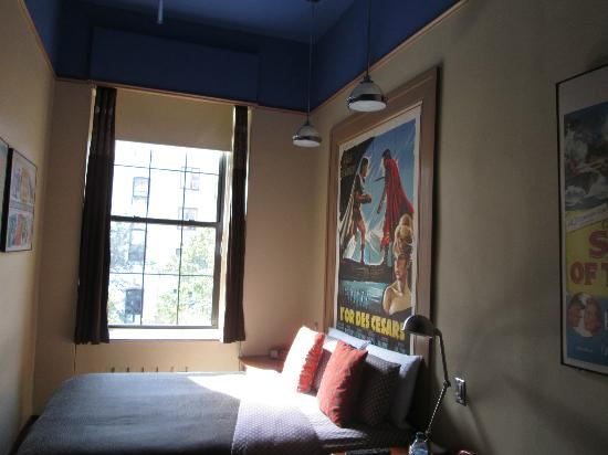 Chelsea Pines Inn: This was our large bedroom on the third floor.
