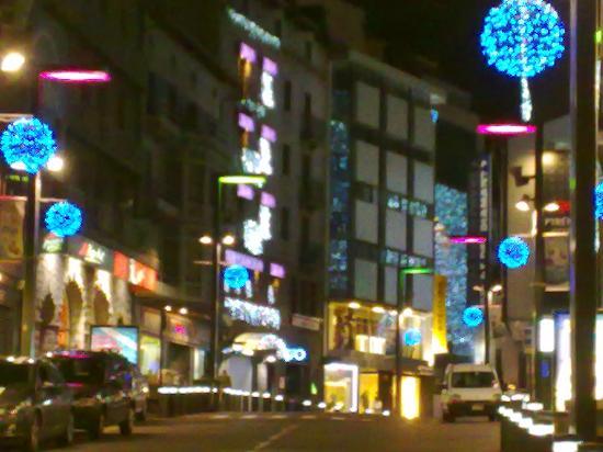 Andorra la Vella, Andorra: Uma das principais ruas do comércio
