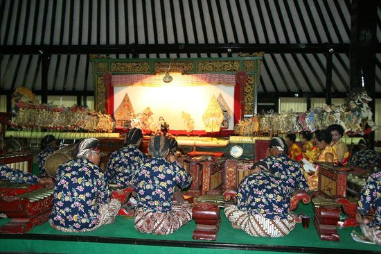 Sonobudoyo Museum : Orchestra of Wayang kulit