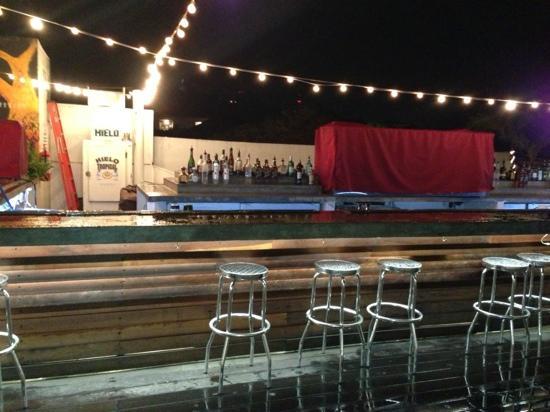 Tantalo Hotel / Kitchen / Roofbar: Tantalo Hotel Roof Top Bar 11/25/12