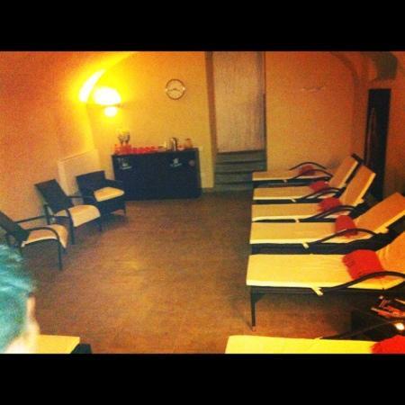 Palazzo San Lorenzo Hotel & Spa: sala relax..