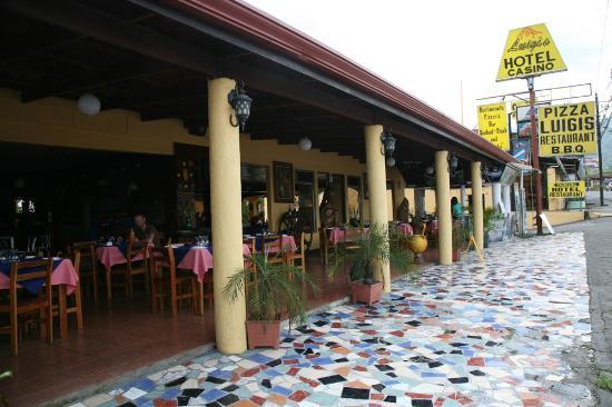 Luigi's Hotel : Luigi's restaurant