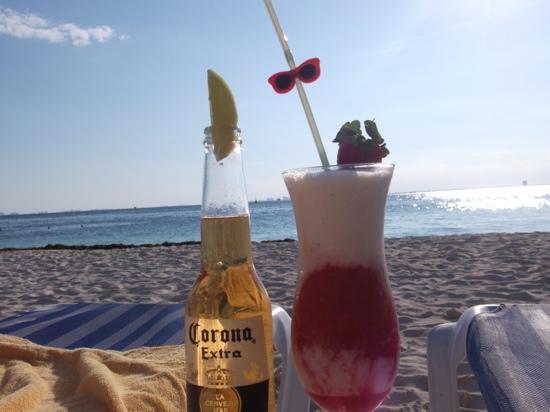 Playa Norte: hard a life