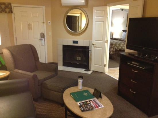 Homewood Suites by Hilton San Jose Airport-Silicon Valley: Living Room