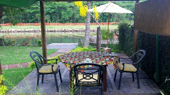 Utropico Guest House: our breakfast area