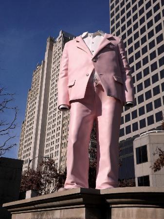 City Garden: Pink suit