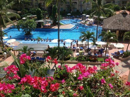 Canto Del Sol Plaza Vallarta: View from the top floor