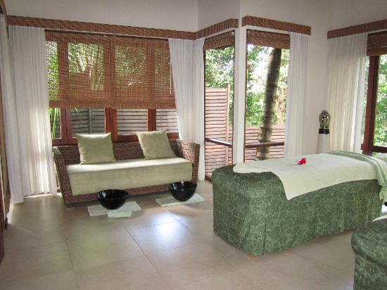 Hilton Seychelles Labriz Resort & Spa: Spa treatment room view 2