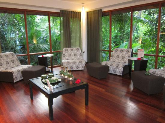 Hilton Seychelles Labriz Resort & Spa: Spa after therapy lounge