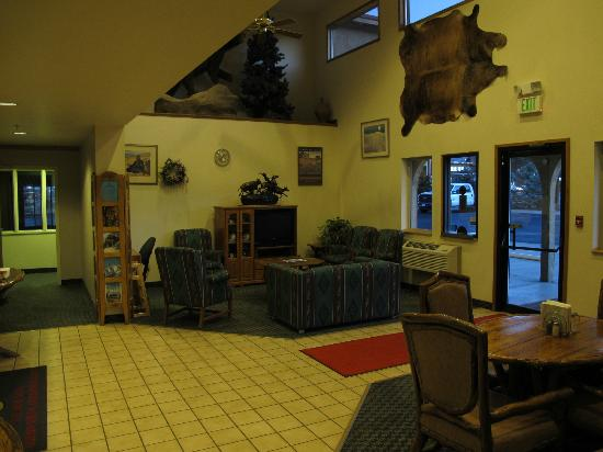 Super 8 Buena Vista: the lobby