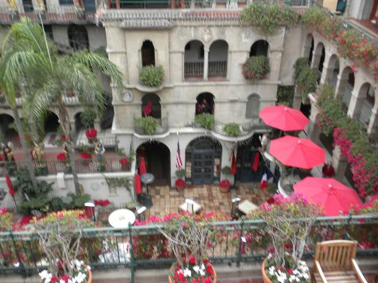 The Mission Inn Hotel and Spa: View from our front door