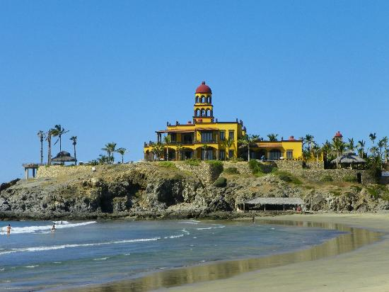 Hacienda Cerritos Boutique Hotel: beach views