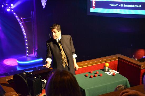 Armando Vera Magic Show: Magician Armando Vera