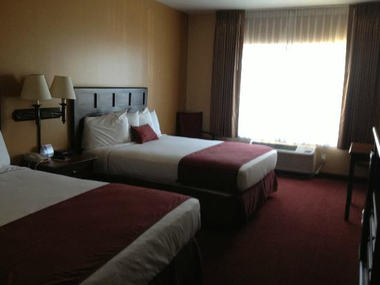 Grand Canyon Railway Hotel: Double Queen room