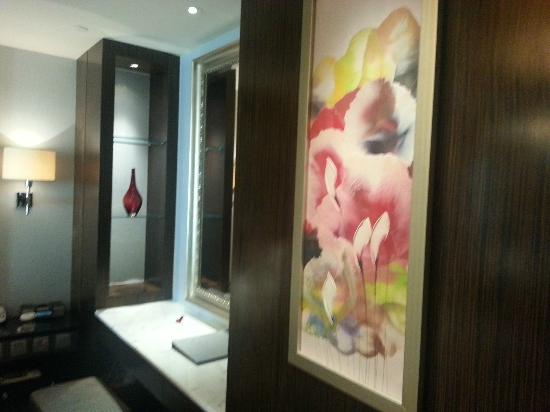 The Sands Macao: Wall decor, nice....