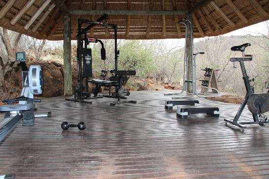 Etali Safari Lodge: The Gym