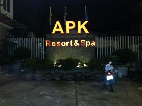 APK Resort & Spa: entrance