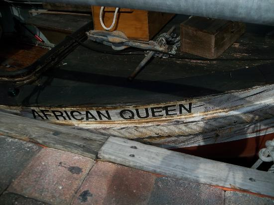 African Queen Canal Cruise: There is the name