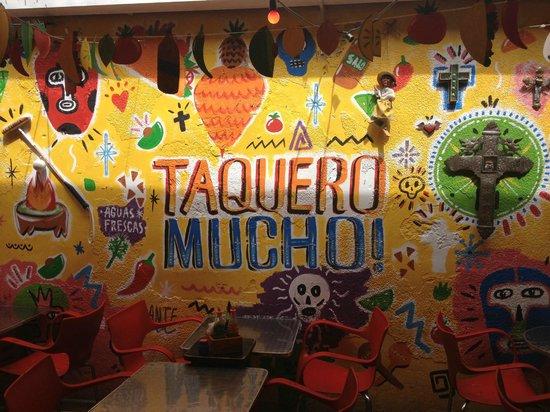 La Fabrica Del Taco: Decoração