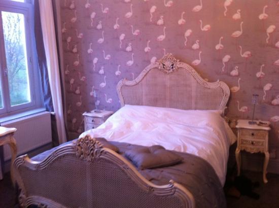 Maison de Plumes: the bedroom