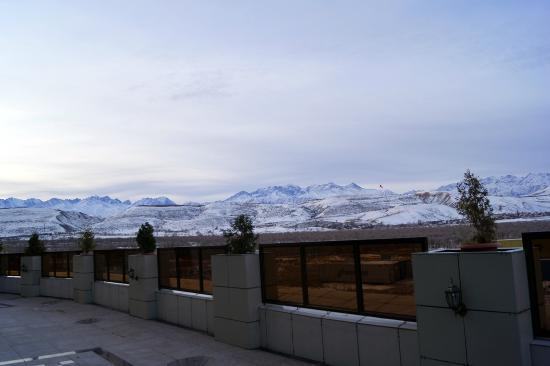 Jannat Regency Hotel: Вид с балкона