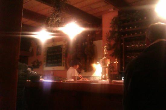 Nice atmosphere picture of la chimenea la linea de la - Chimenea de alcohol ...