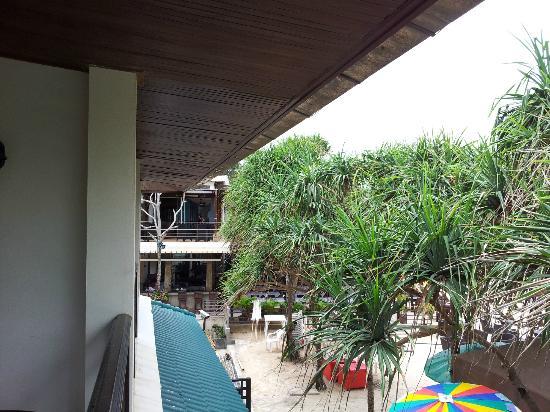 Patong Bay Garden Resort: view from balcony of Studio