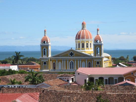Granada, Nicaragua: View from the top of the chapel