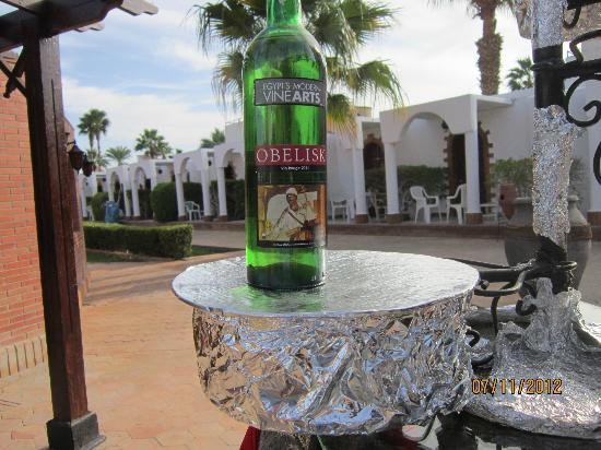 Al Mashrabiya: Местное вино