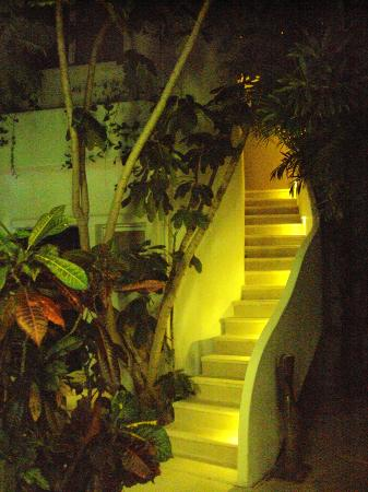 Aqualuna Boutique Hotel by Xperience Hotels: Stairs to 2nd floor