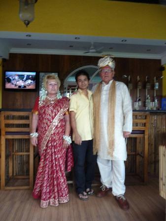 Santana Beach Resort: our wedding gear 