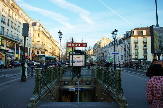 Timhotel Saint Georges: Metro Pigalle