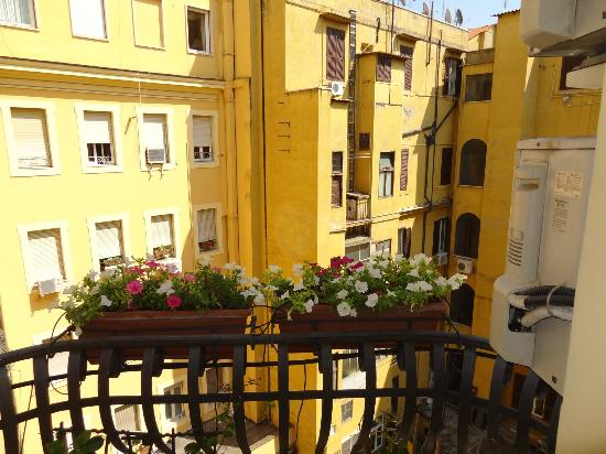Residenza Cellini: The view from the balcony