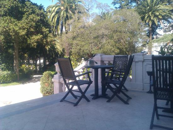 Pestana Palace Lisboa Hotel & National Monument: Breakfast terrace