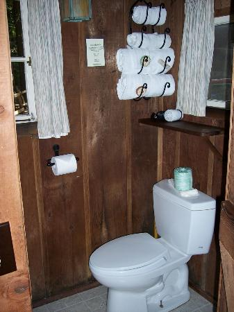 Deetjen's Big Sur Inn: Castro cabin bathroom