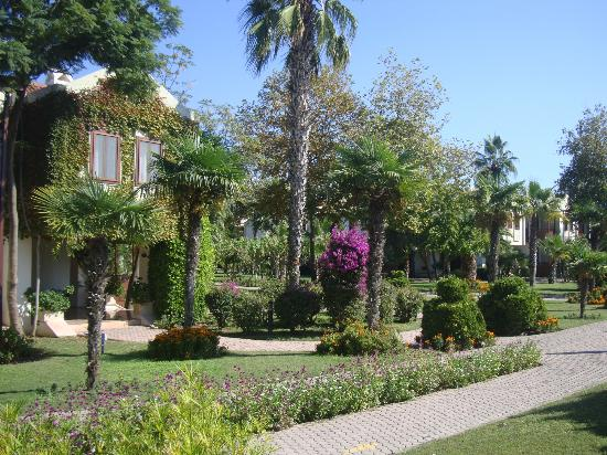 Club Tuana Fethiye: some of the beautiful grounds