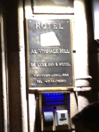 Al Viminale Hill Inn & Hotel: enter 