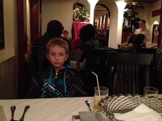 Jamuna : jasper in the restaurant