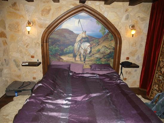 La Toison d'Or : una de las habitaciones