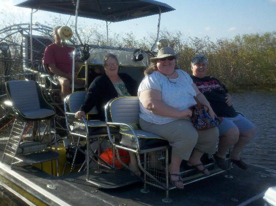 Miami, FL: Old ladies in the glades.