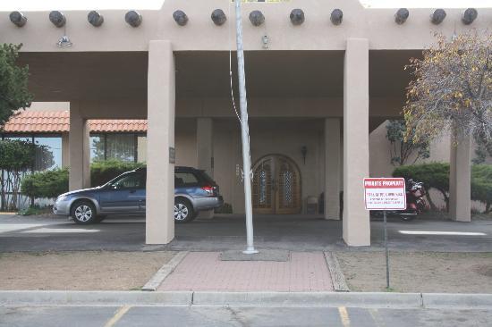 Quality Inn: ingresso